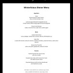 Bymark Winterlicious Dinner Menu