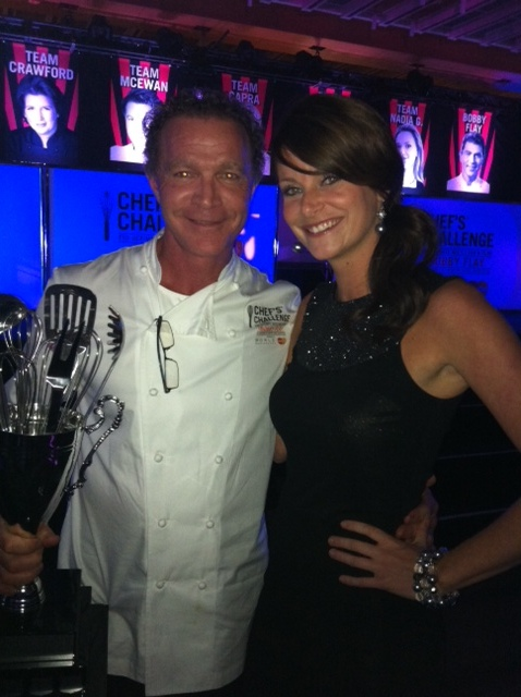 Mark and Jordie at Chef's Challenge