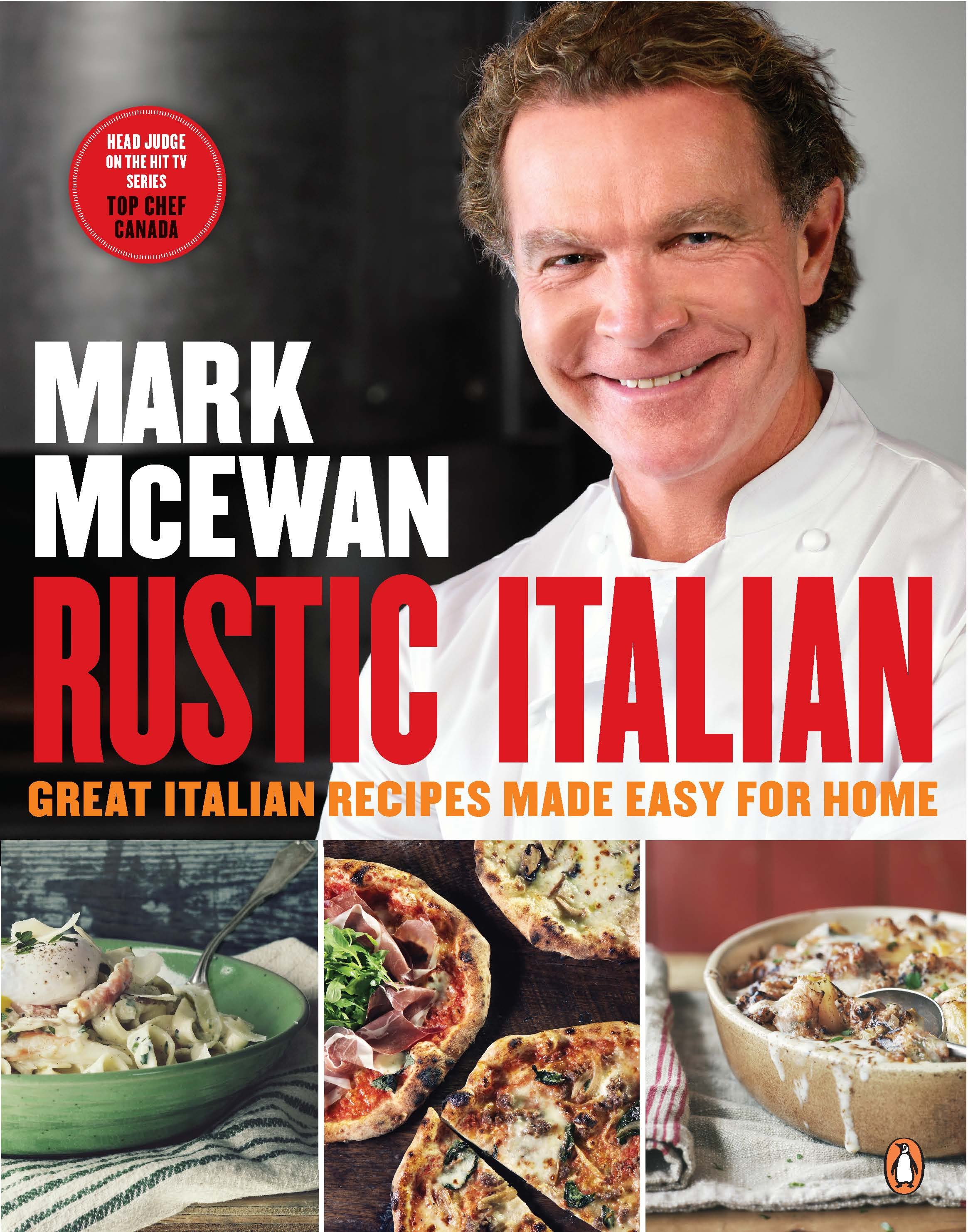Rustic Italian Cookbook Cover