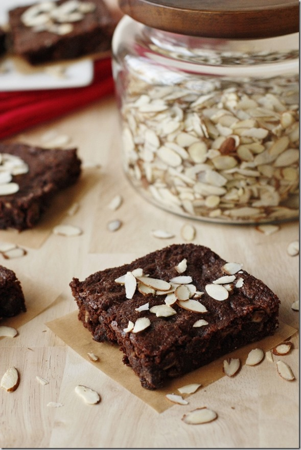 Gluten Free Almond Brownies