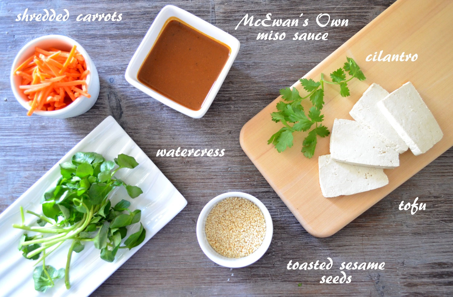 Miso Glazed Tofu Recipe Ingredients