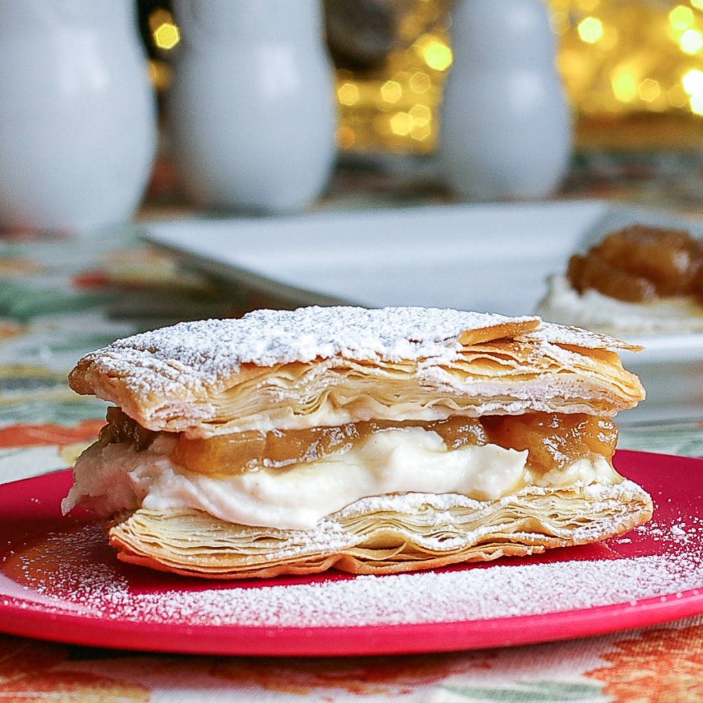 Riesling Apple Napoleons